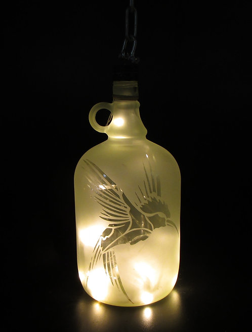 King Fisher Hanging Lantern