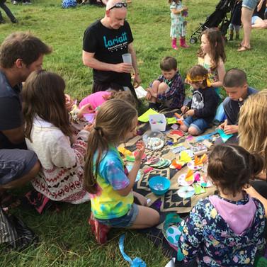 Festival group craft workshops