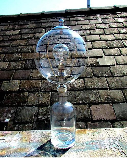 Bubble Bottle Table Lamp