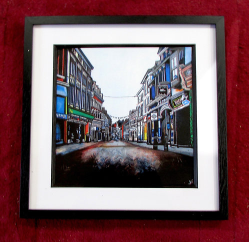 Framed print of Hockley. Nottingham