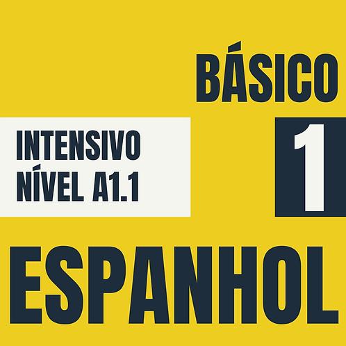 Intensivo Básico 1 - Espanhol  (A1.1)