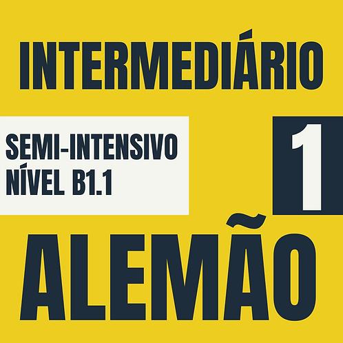 Semi-Intensivo Intermediário 1 - Alemão (B1.1)