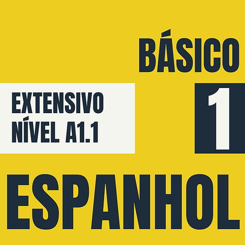 Básico 1 - Espanhol (A1.1)