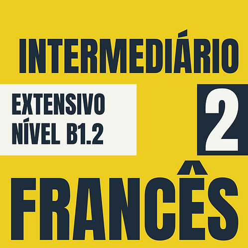 Intermediário 2 - Francês (B1.2)