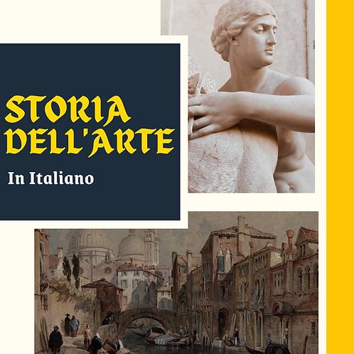 Curso Especial - Storia Dell'Arte