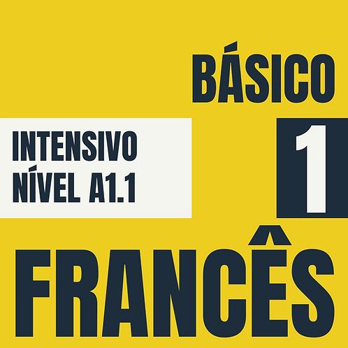 Intensivo Básico 1 - Francês  (A1.1)