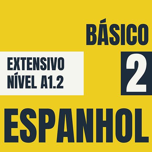 Básico 2  - Espanhol (A1.2)