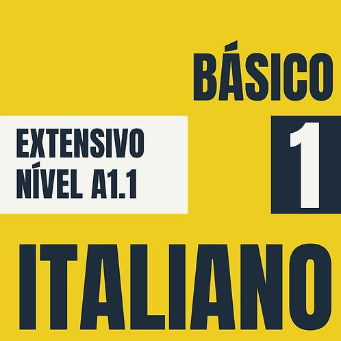 Básico 1 - Italiano (A1.1)