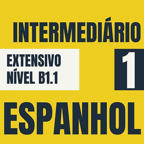 Intermediário 1 - Espanhol (B1.1)