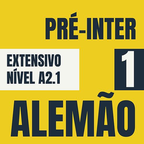 Pré-Intermediário 1  - Alemão (A2.1)