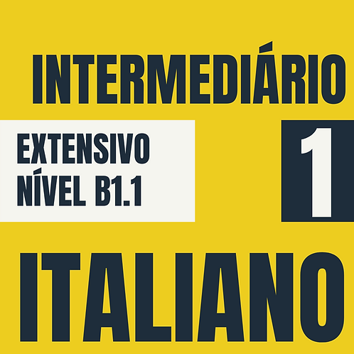 Intermediário 1 - Italiano (B1.1)