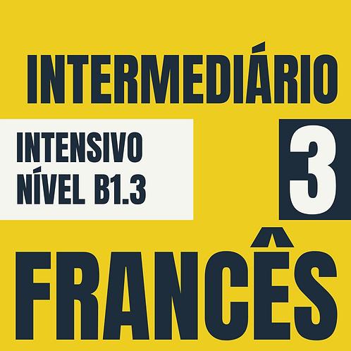 Intensivo Intermediário 3 - Francês (B1.3)