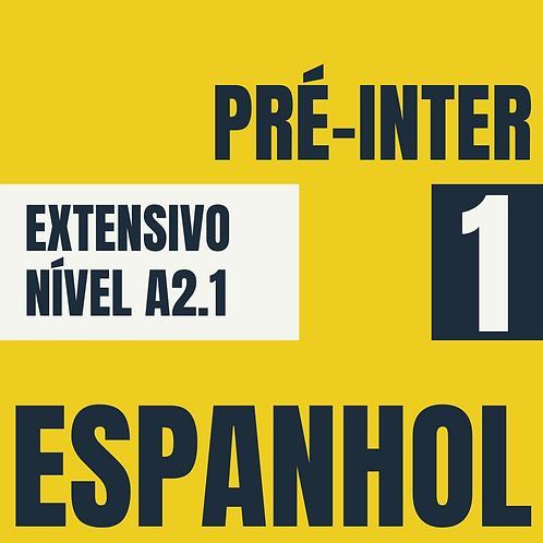 Pré-Intermediário 1 - Espanhol (A2.1)