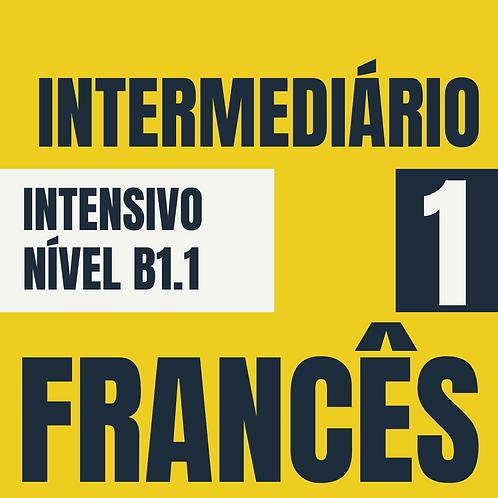 Intensivo Intermediário 1 - Francês (B1.1)
