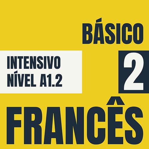 2021 - Intensivo Básico 2 - Francês  (A1.2)