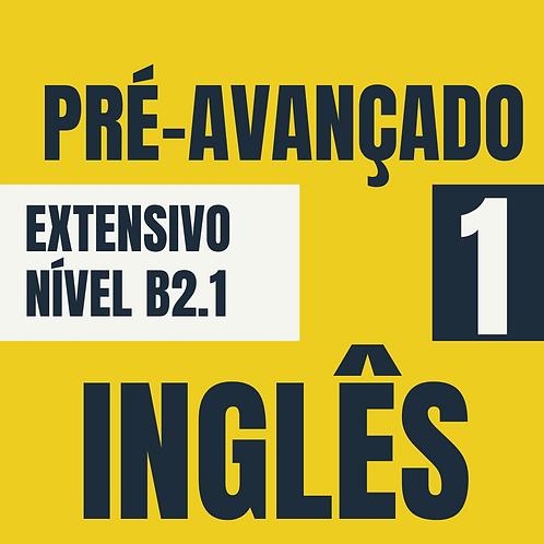 Pré-avançado 1 - Inglês (B2.1)