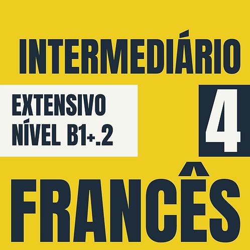 Intermediário 4 - Francês (B1+.2)