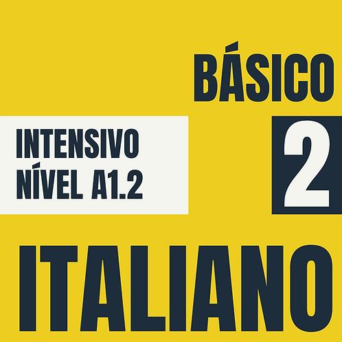 Dez/2020 Intensivo Básico 2 - Italiano (A1.2)