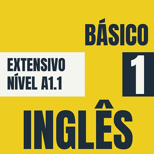 Básico 1 - Inglês (A1.1)