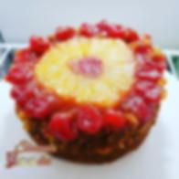 Vegan Pineapple 🍍 Upside Down cake. A l