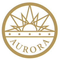 Aurora Pride Sponsor Aurora City emblem