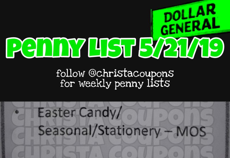 Surprise Penny Items at Dollar General
