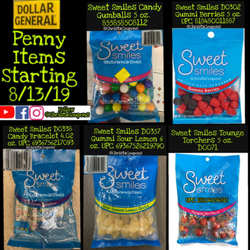 Printable Clearance List for Dollar General 2/1/19 to 2/3/19