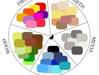 Wise use of color helps balance the five elements