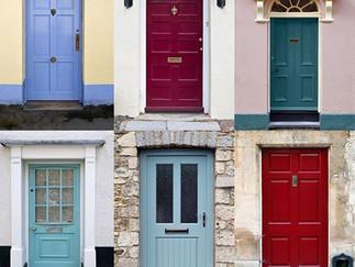 Need more energy? Paint the front door!