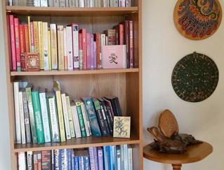 Messy bookshelf?