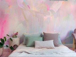 Artful, inspired painting creates stunning walls
