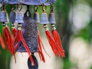 Wind chimes can attract wealth