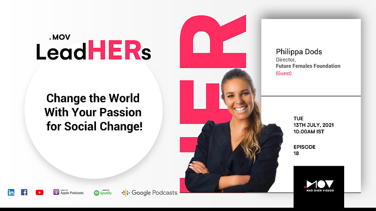 LeadHERs Podcast Launch