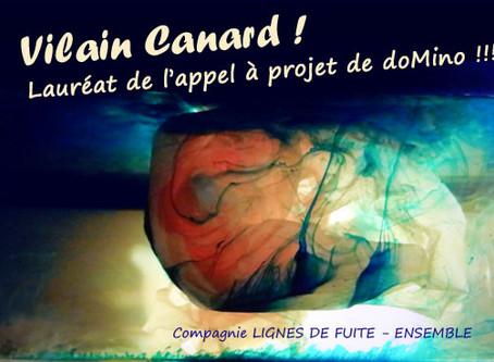 Vilain Canard ! lauréat de l'appel à projets de doMino !!!