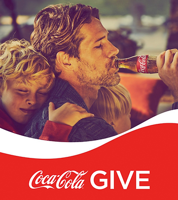 CocaCola Give father son Telra.png