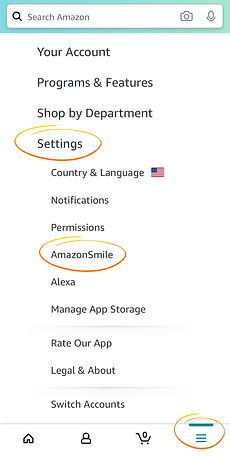 Mobile amazon settings mobile circles.jp