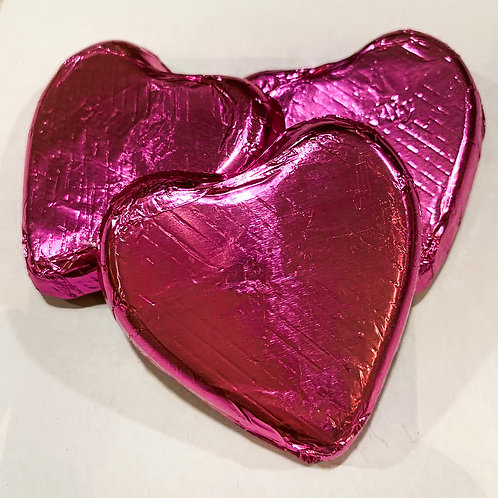Chocolate Heart 30g x 2 - Red, Gold, Pink