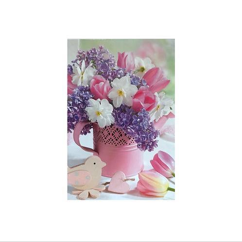Blank - Watering Can Flowers