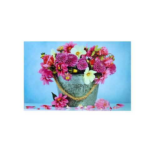 Blank - Bucket of Flowers