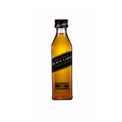 Johnnie Walker Scotch 12YO Whisky Black Label