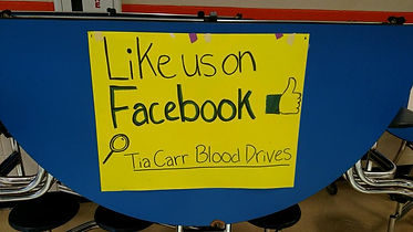 Facebook Tia Lucia Blood Drives