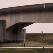 bridge 75 x 72cm