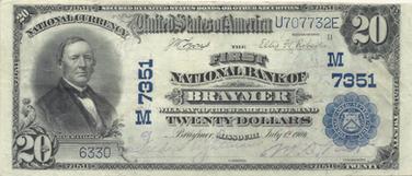 Series 1902 Plain Back