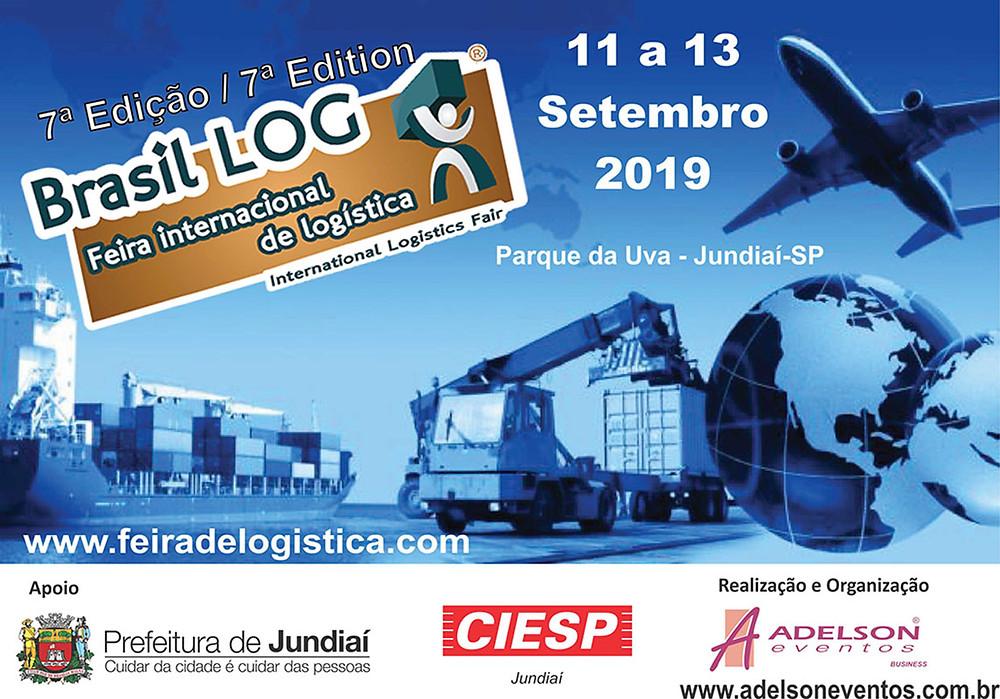 Brasil Log 2019 Feira internacional de logística