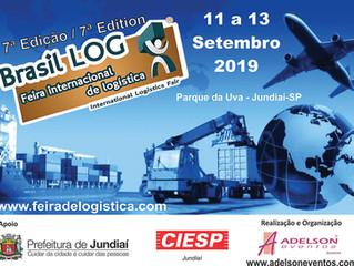 Jundiaí sedia feira internacional de logística em 2019