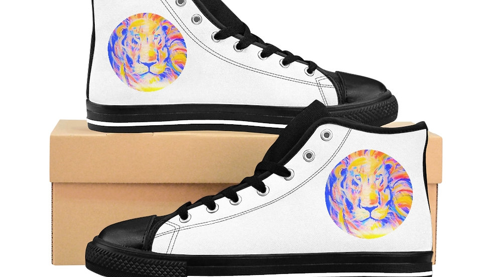 Women's Lion of Judah  High-top Sneakers