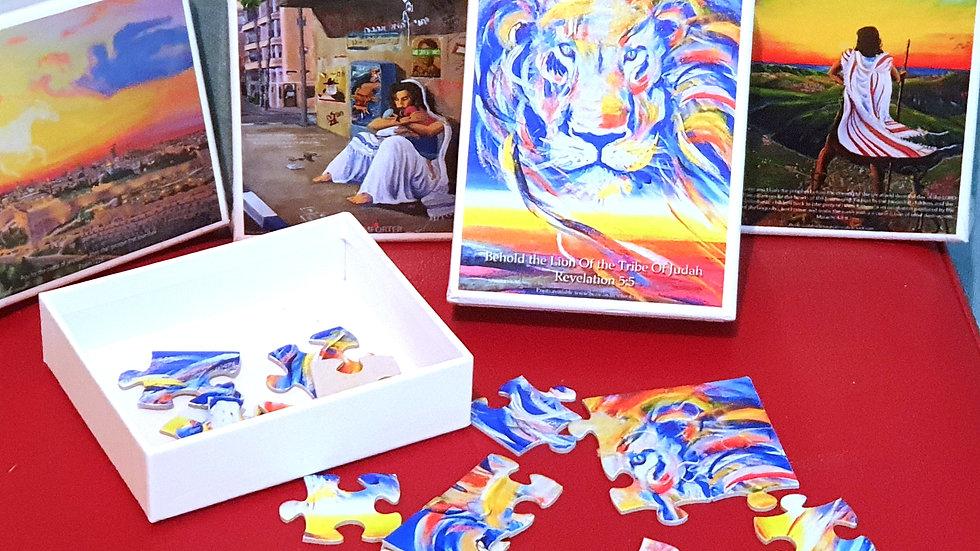 3 x mini puzzles pack