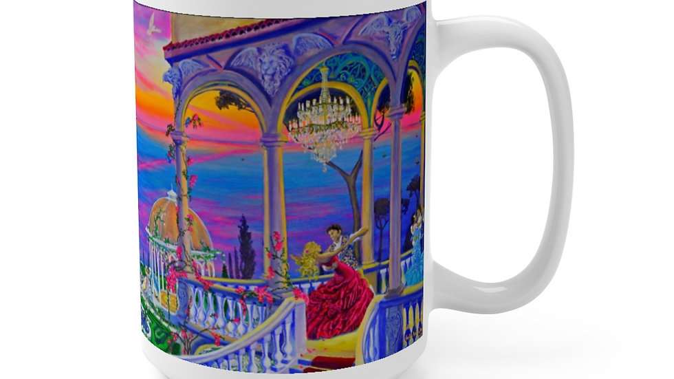 Gorgeous Italian style art Mug 15oz