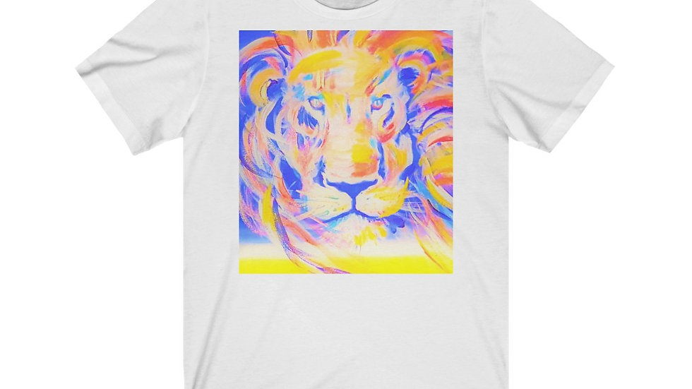 Unisex Lion Of Judah art Tee