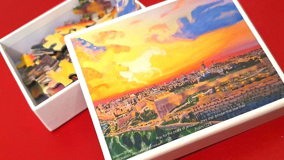 Jerusalem of Gold Puzzle